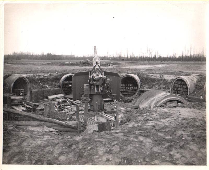 arneberger flakstellung 1945